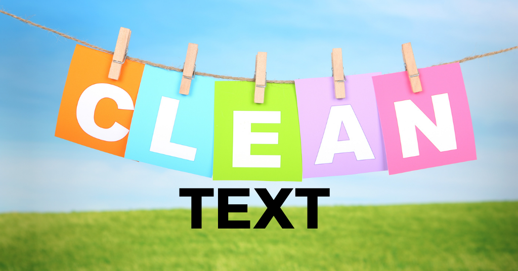 clean up word html